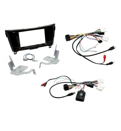 Connects2 Car Stereo Fitting Kit Double DIN Facia Radio Installation For Nissan - CTKNS04