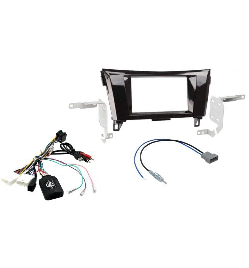 Connects2 Car Stereo Fitting Kit Double DIN Facia Radio Installation For Nissan - CTKNS05