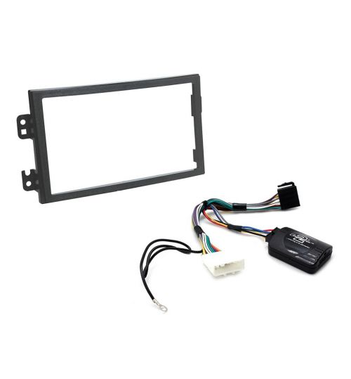 Connects2 Car Stereo Fitting Kit Double DIN Facia Radio Installation For Nissan - CTKNS08