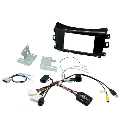 Connects2 Car Stereo Fitting Kit Double DIN Facia Radio Installation For Nissan - CTKNS10