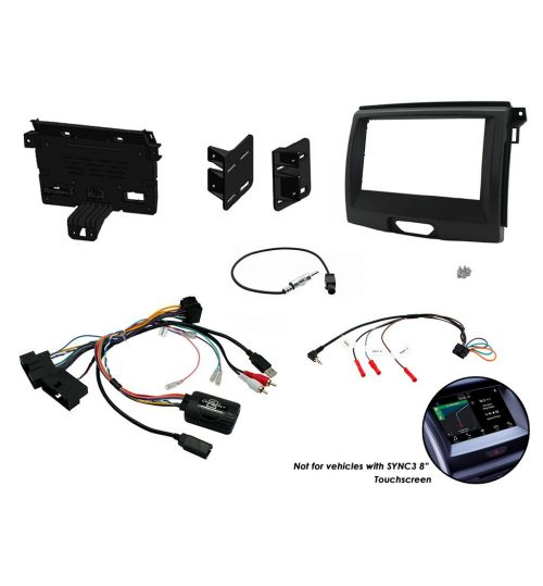 Connects2 Stereo Fitting Kit Double DIN Facia Radio Installation Ford Ranger - CTKFD65