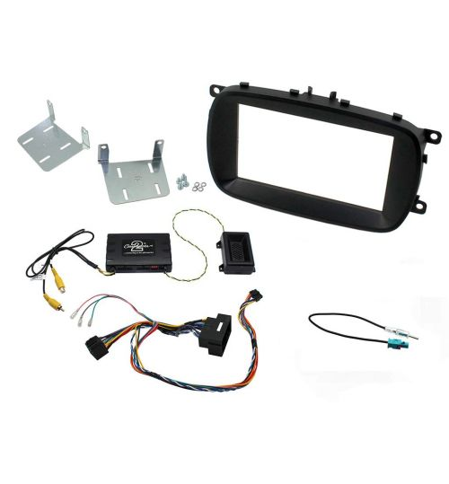Connects2 Double DIN Double Din Car Stereo Fascia Fitting Kit For Fiat - CTKFT13