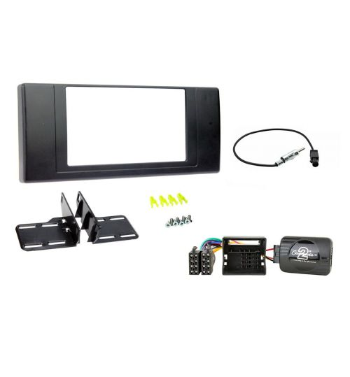 Connects2 Car Stereo Fitting Kit Double DIN Facia Radio Installation For Range Rover Sport - CTKLR03