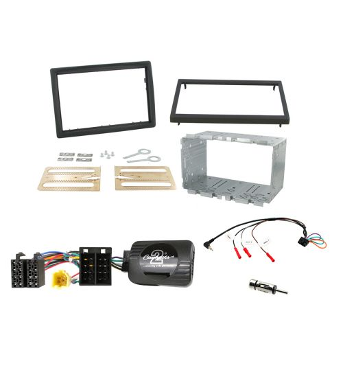 Connects2 Car Stereo Fitting Kit Double DIN Facia Radio Installation For Renault - CTKRT01