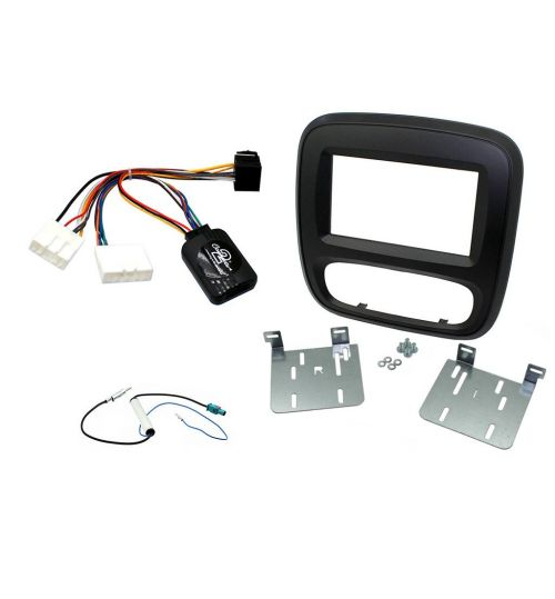 Connects2 Car Stereo Fitting Kit Double DIN Facia Radio Installation For Renault - CTKRT06