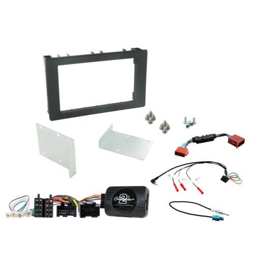 Connects2 Car Stereo Fitting Kit Double DIN Fascia Radio Installation For Saab - CTKSA01