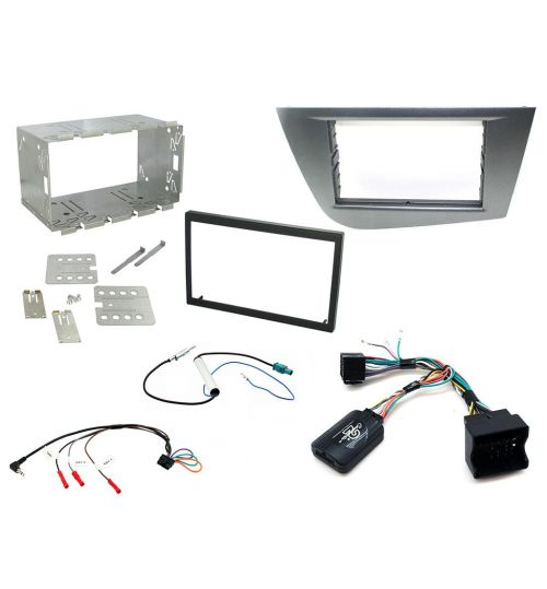 Connects2 Car Stereo Fitting Kit Double DIN Facia Radio Installation For Seat - CTKST05