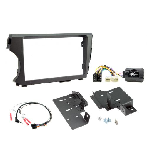 Connects2 Car Stereo Fitting Kit Double DIN Facia Radio Installation For SsangYong - CTKSY01
