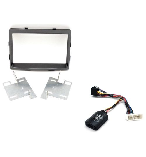 Connects2 Car Stereo Fitting Kit Double DIN Facia Radio Installation For SsangYong - CTKSY02