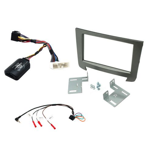 Connects2 Car Stereo Fitting Kit Double DIN Facia Radio Installation For SsangYong - CTKSY03