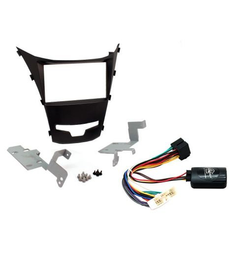 Connects2 Car Stereo Fitting Kit Double DIN Facia Radio Installation For SsangYong - CTKSY04