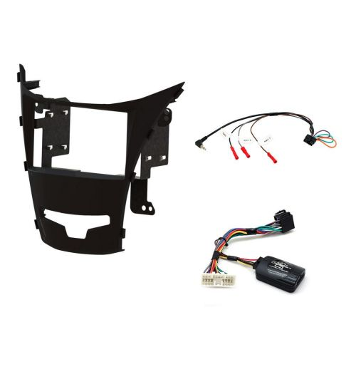 Connects2 Car Stereo Fitting Kit Double DIN Facia Radio Installation For SsangYong - CTKSY05