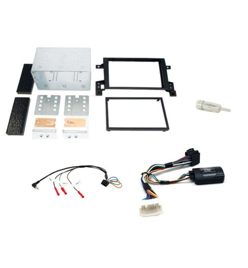 Connects2 Car Stereo Fitting Kit Double DIN Facia Radio Installation For Suzuki - CTKSZ01