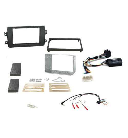 Connects2 Car Stereo Fitting Kit Double DIN Facia Radio Installation For Suzuki - CTKSZ05