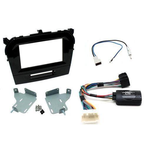 Connects2 Car Stereo Fitting Kit Double DIN Facia Radio Installation For Suzuki - CTKSZ08