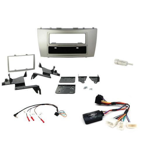 Connects2 Car Stereo Fitting Kit Single / Double DIN Facia Radio Installation For Toyota - CTKTY01