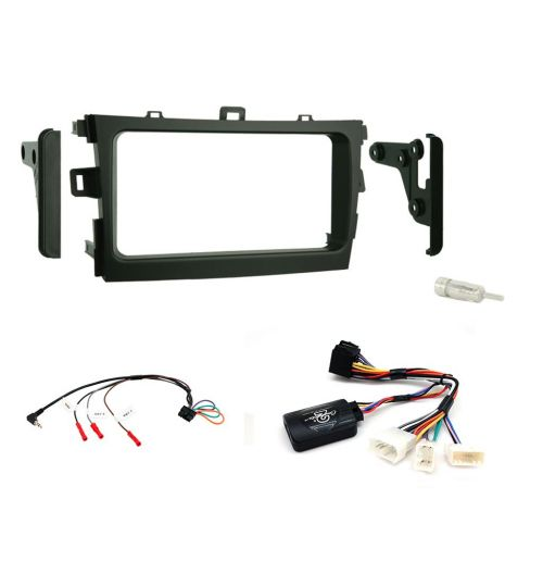 Connects2 Car Stereo Fitting Kit Double DIN Facia Radio Installation For Toyota - CTKTY02
