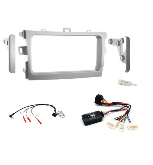 Connects2 Car Stereo Fitting Kit Double DIN Facia Radio Installation For Toyota - CTKTY03