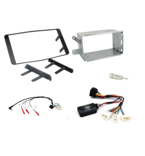Connects2 Car Stereo Fitting Kit Double DIN Facia Radio Installation For Toyota - CTKTY04