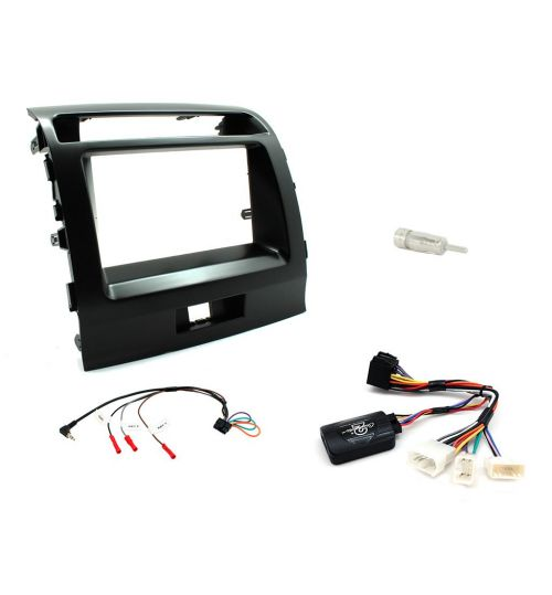 Connects2 Car Stereo Fitting Kit Double DIN Facia Radio Installation For Toyota - CTKTY05