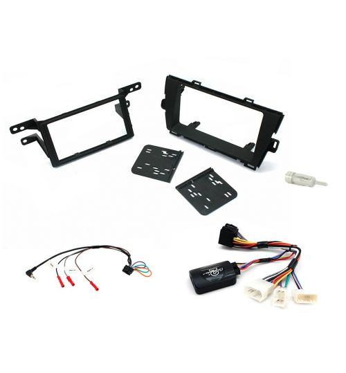 Connects2 Car Stereo Fitting Kit Double DIN Facia Radio Installation For Toyota - CTKTY06