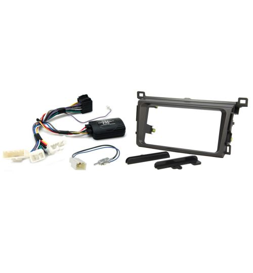 Connects2 Car Stereo Fitting Kit Double DIN Facia Radio Installation For Toyota - CTKTY07
