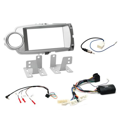 Connects2 Car Stereo Fitting Kit Double DIN Facia Radio Installation For Toyota - CTKTY09