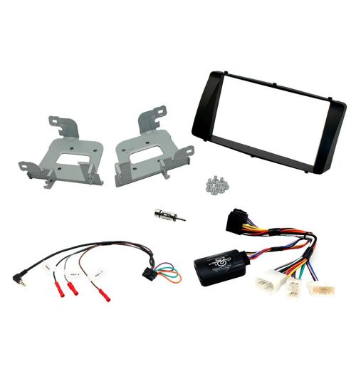 Connects2 Car Stereo Fitting Kit Double DIN Facia Radio Installation For Toyota - CTKTY13