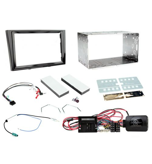 Connects2 Car Stereo Fitting Kit Double DIN Fascia Radio Installation For Vauxhall - CTKVX11