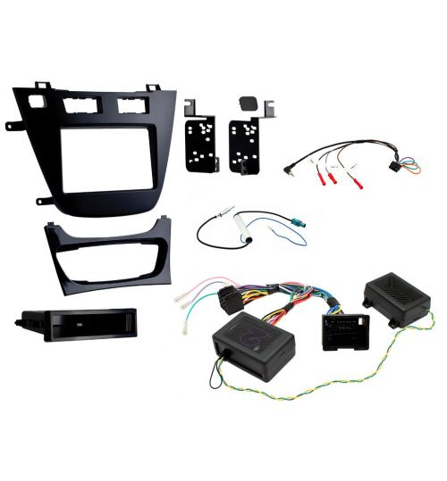 Connects2 Car Stereo Fitting Kit Double DIN Facia Radio Installation For Vauxhall - CTKVX40