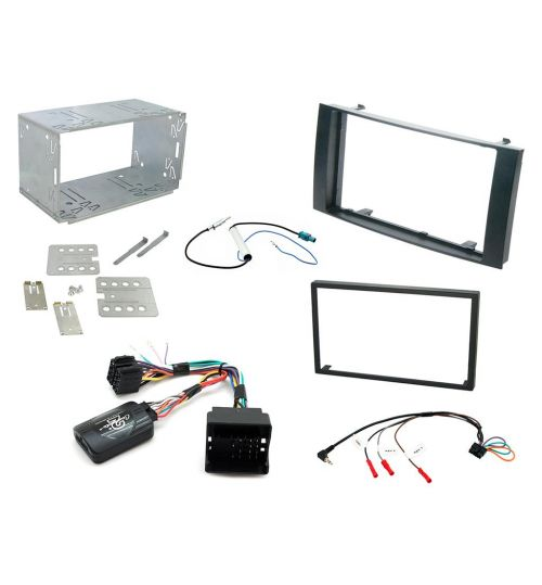 Connects2 Car Stereo Fitting Kit Double DIN Facia Radio Installation For Volkswagen - CTKVW03
