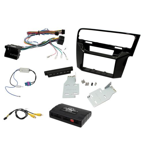 Connects2 Car Stereo Fitting Kit Double DIN Facia Radio Installation For Volkswagen - CTKVW08