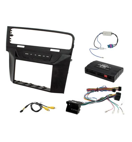 Connects2 Car Stereo Fitting Kit Double DIN Facia Radio Installation For Volkswagen - CTKVW08L