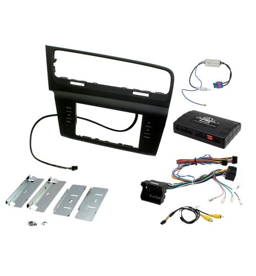 Connects2 Car Stereo Fitting Kit Double DIN Facia Radio Installation For Volkswagen - CTKVW09L