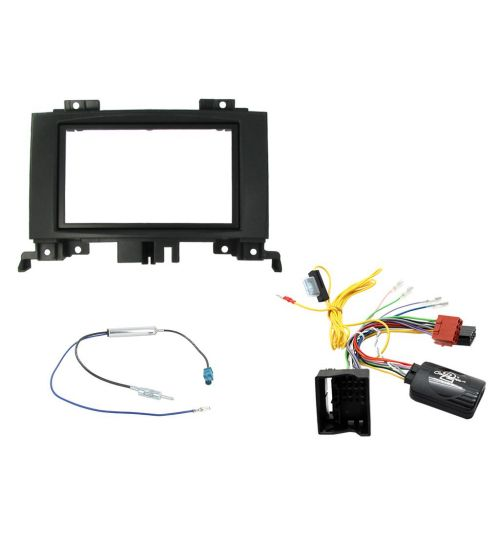 Connects2 Car Stereo Fitting Kit Double DIN Facia Radio Installation For Volkswagen - CTKVW10