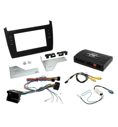 Connects2 Car Stereo Fitting Kit Double DIN Facia Radio Installation For Volkswagen - CTKVW13