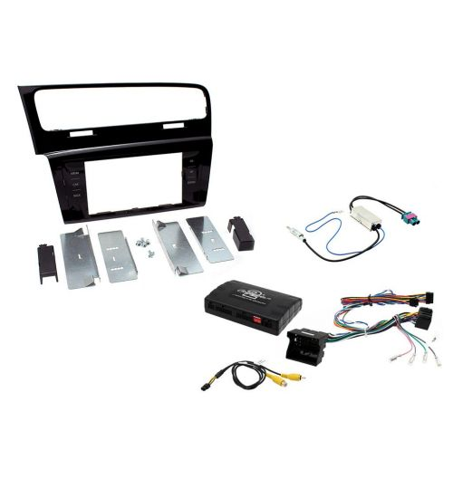 Connects2 Car Stereo Fitting Kit Double DIN Facia Radio Installation For Volkswagen - CTKVW15L