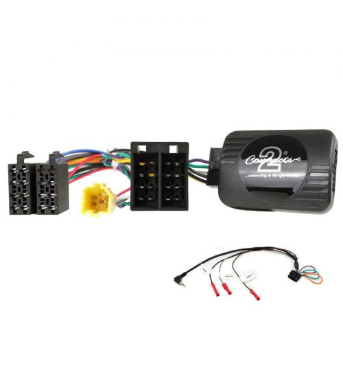 Connects2 Steering Wheel/Stalk Interface For Renault - CTSRN005.2