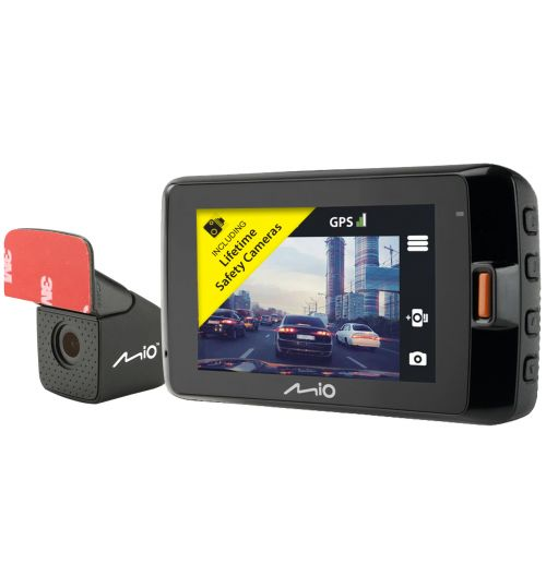 "Mio Mivue 792 Dual 2.7"" GPS Car Dash & Rear Camera WIFI Starvis Sensor HD Record"