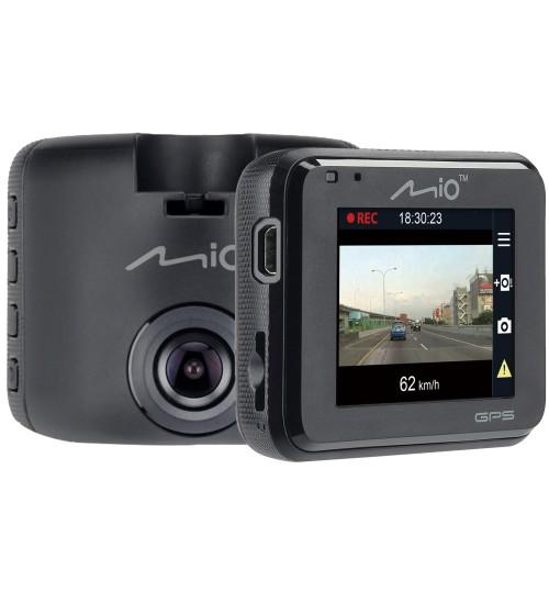 Mio Mivue C323P 1080p Full HD 130° Wide Angle View F2.0 Aperture Lens Dash Cam