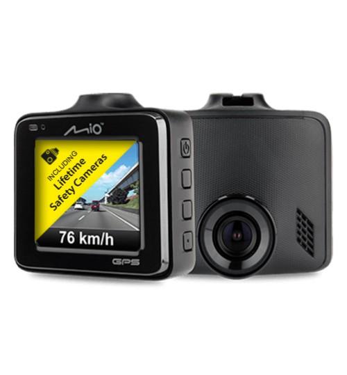 "Mio Mivue C335 2"" Car Dash Cam 1080p Full HD 30 fps GPS Tracking 3Axis G-Sensor"