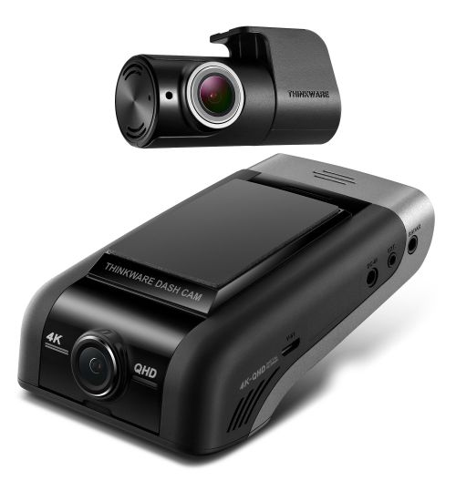THINKWARE Dash Cam U1000 4K Ultra HD 2CH Front and Rear Camera Solution