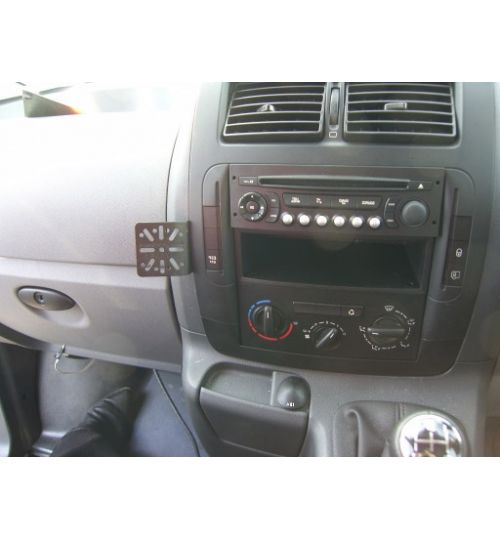 Dashmount 711123f Upper Console Mounting Bracket Fiat Scudo 2007 >