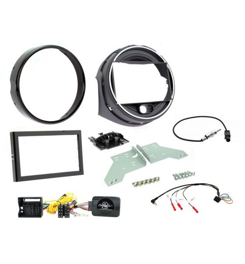 Connects2 Car Stereo Double DIN Fitting Kit For BMW MINI F55 / F56 - CTKBM22