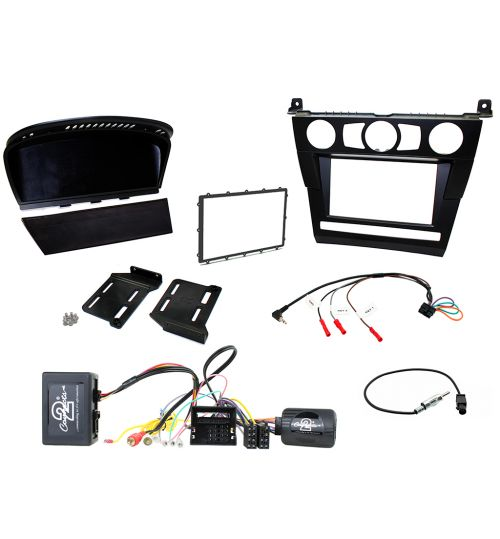 Connects2 Car Stereo Double DIN Fitting Kit For BMW 5 Series E60 - CTKBM25