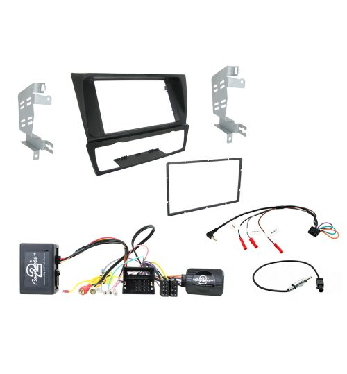 Connects2 Car Stereo Double DIN Fitting Kit For BMW 3 Series - CTKBM27