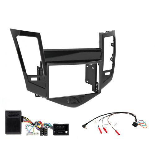 Connects2 Car Stereo Fitting Kit Double DIN Facia Radio Installation For Chevrolet - CTKCV01