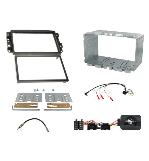 Connects2 Car Stereo Fitting Kit Double DIN Facia Radio Installation For Chevrolet - CTKCV02