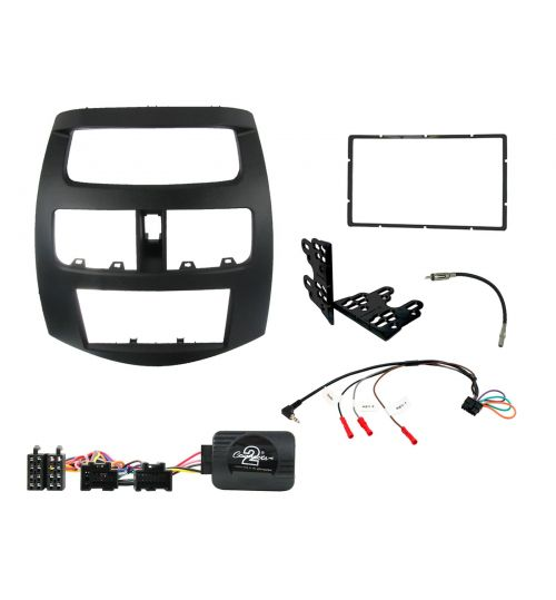 Connects2 Car Stereo Fitting Kit Double DIN Facia Radio Installation For Chevrolet - CTKCV03
