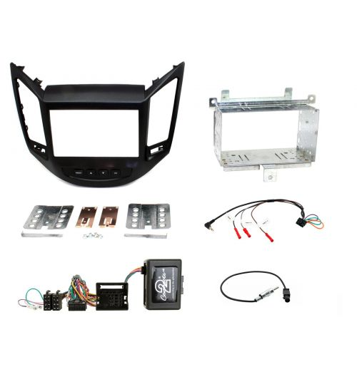 Connects2 Car Stereo Fitting Kit Double DIN Facia Radio Installation For Chevrolet - CTKCV04